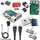 Vilros Raspberry Pi 3 RetroPie Arcade Gaming Kit with 2 Classic USB Gamepads