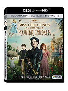 Miss Peregrine's Home for Peculiar Children 4K UHD