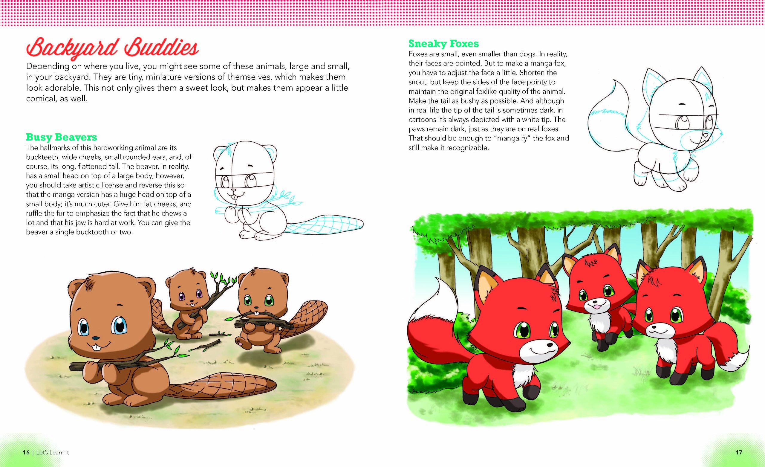 supercute animals and pets christopher hart u0027s draw manga now