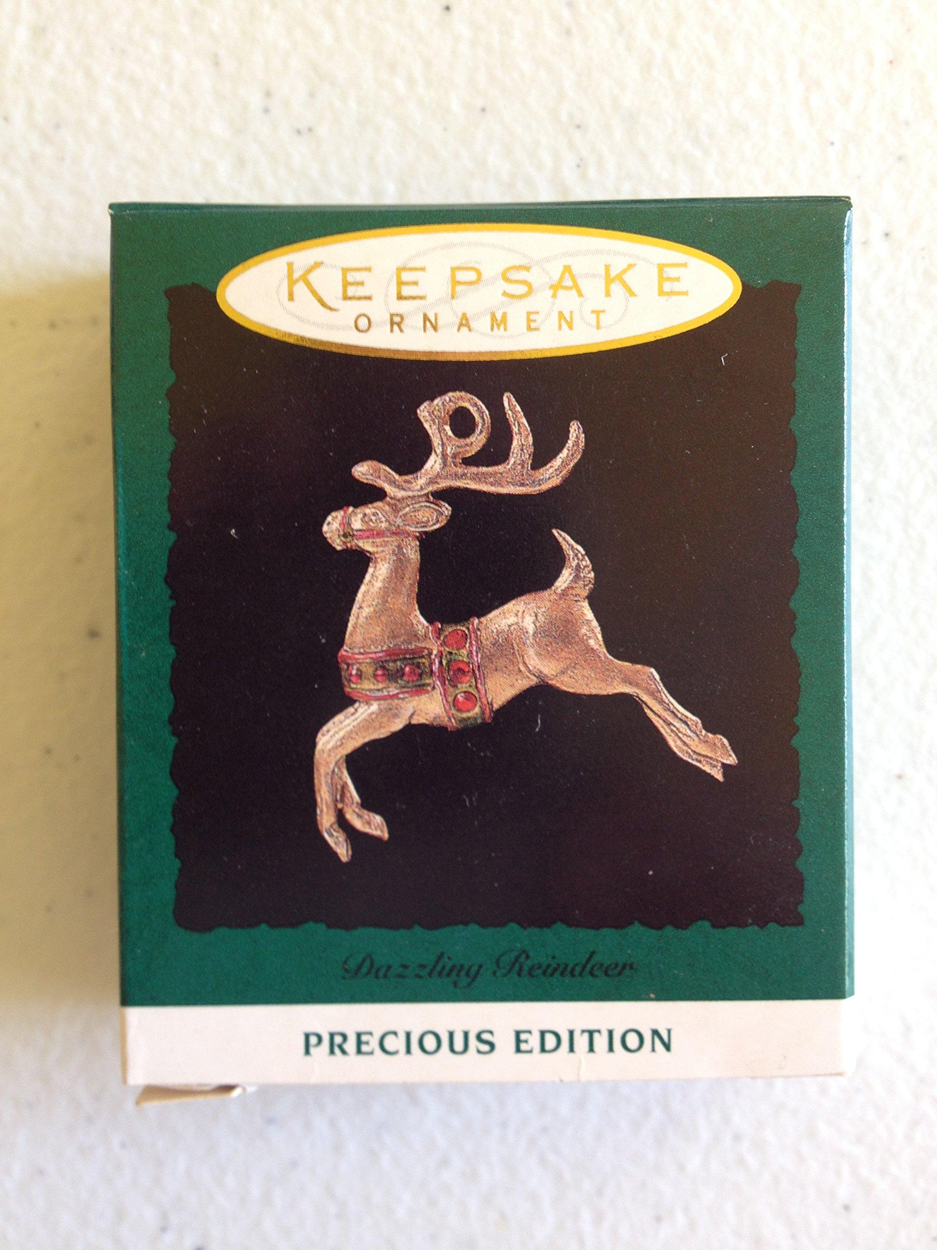 Hallmark Keepsake Ornament ''Dazzling Reindeer'' 1994 Precious Edition (QXM402-6)
