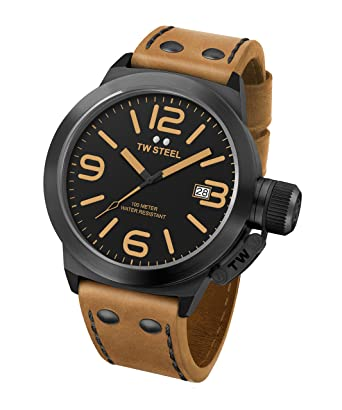 28ba6627093d Amazon.com  TW Steel Men s CS41 Analog Display Quartz Brown Watch ...