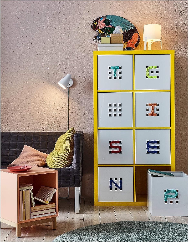 IKEA Kallax – Estanterías unidad, color amarillo: Amazon.es ...