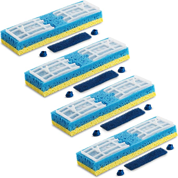 Quickie Type S Mop Refill Clean Squeeze Sponge Fits 045-4 045ON 045HPM Mops