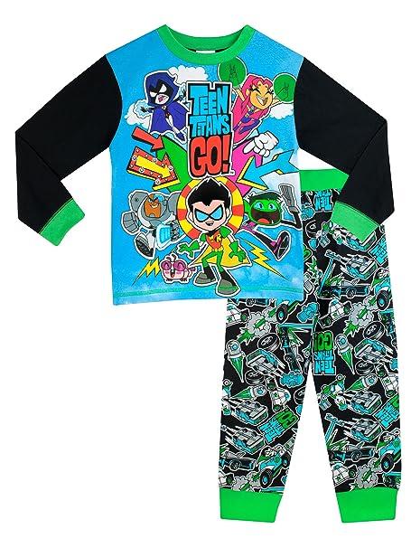 Teen Titans Go - Pijama para Niños - Teen Titans Go - 11 - 12 Años