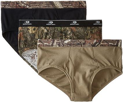 Amazon.com  Mossy Oak Men s Briefs (3-Pack)  Sports   Outdoors 8dc49772e5e
