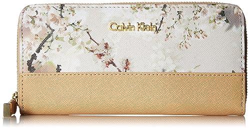 Calvin Klein Printed Saffiano Wallet