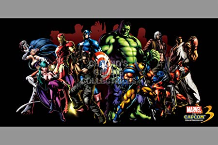 CGC enorme cartel - Marvel vs Capcom 3 último PS3 XBOX 360 ...