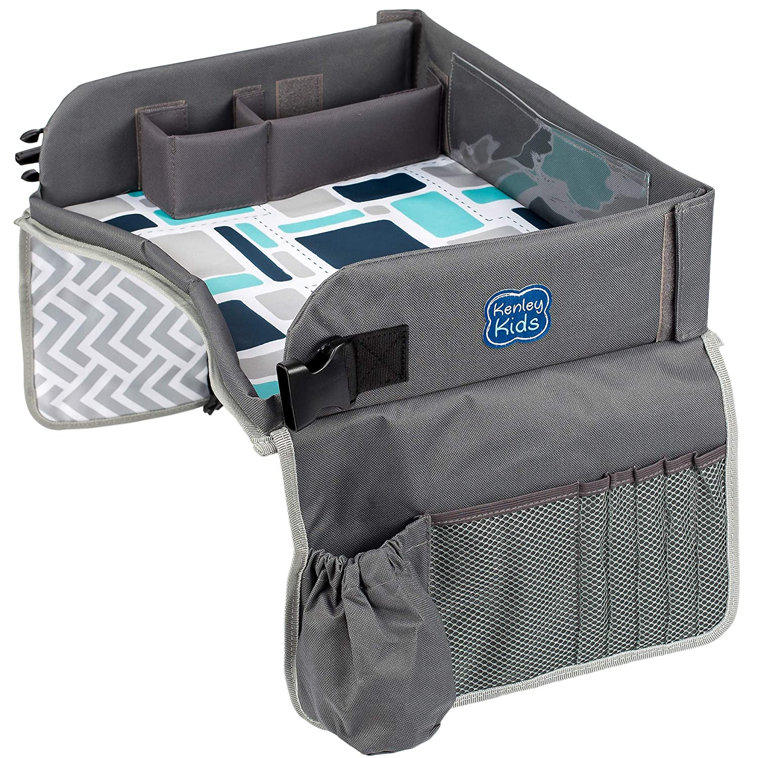 Kenley Kids Travel Tray, Toddler Car Seat Lap Tray