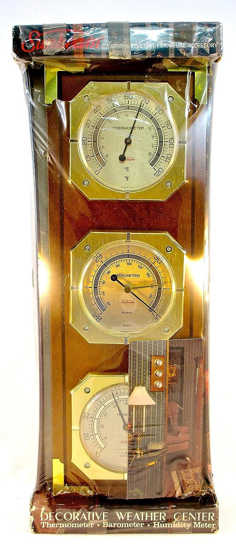 Sunbeam Weather Center,Thermometer,Barometer,Humidity Meter: Amazon ...