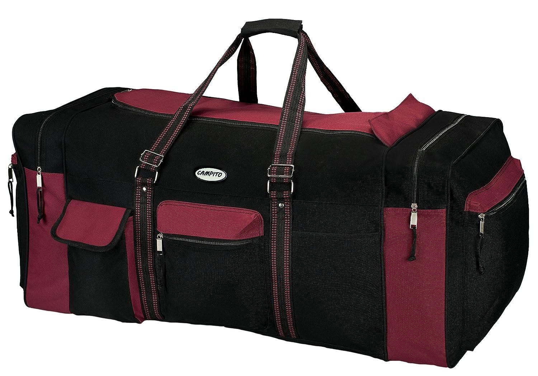 130 Liter 80cm lang schwarz-grau World-Shop24.com Campito Reisetasche