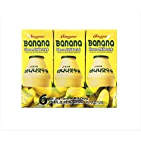 Binggrae Banana Flavour Milk, 200ml, (Pack of 6)