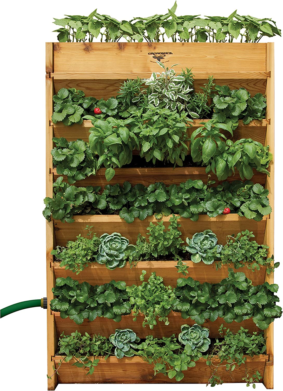 Amazon Com Gronomics Vg3245 Vertical Garden Planter 32 Inch By