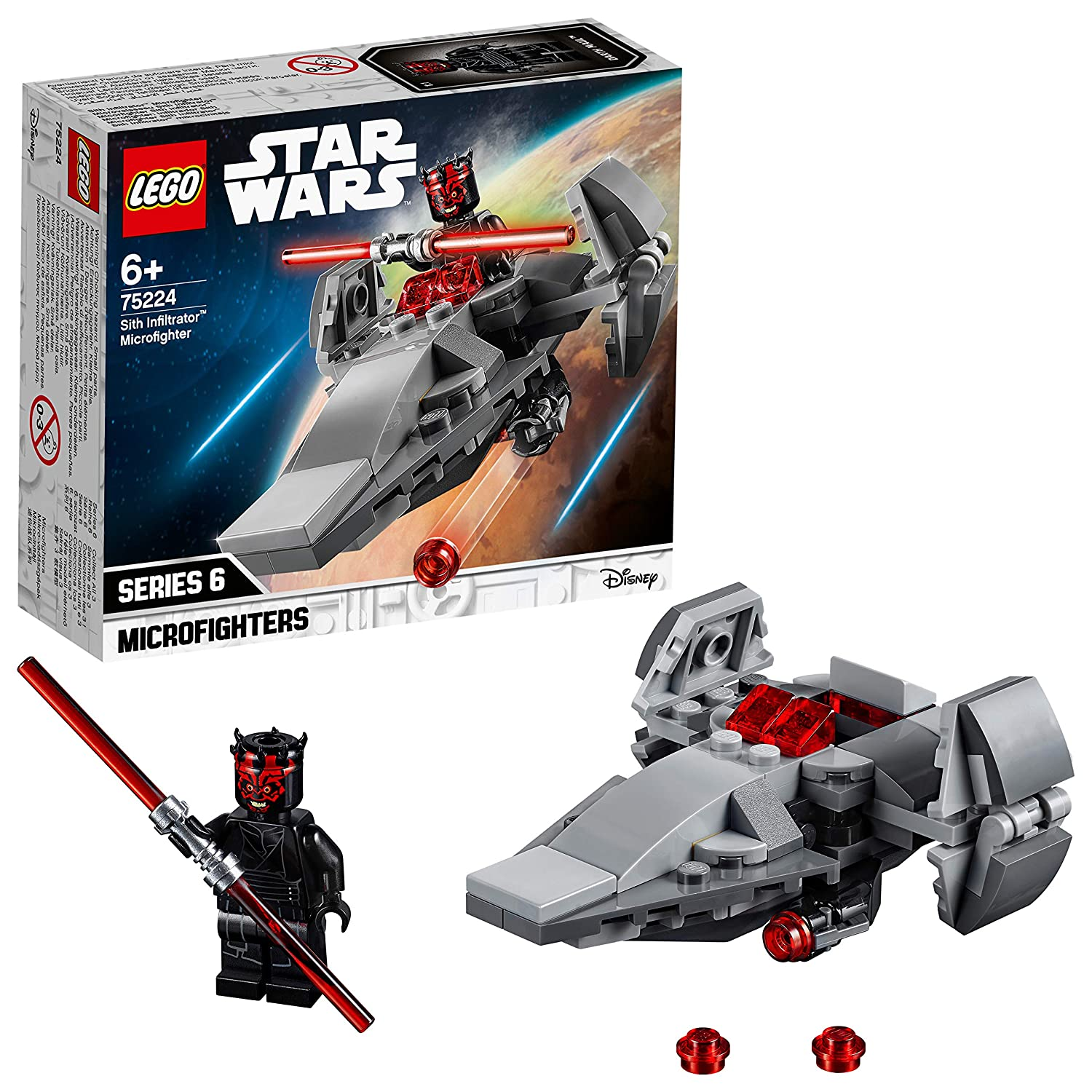 LEGOStar Wars™ 75224 Sith Infiltrator™ Microfighter