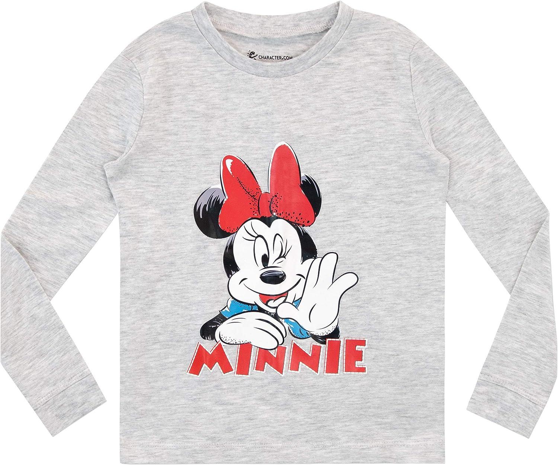 Disney Girls Minnie Mouse Pyjamas Snuggle Fit