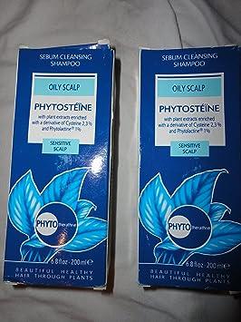 Amazon com : Phytosteine - Sebum Cleansing Shampoo (Set of 2) : Hair