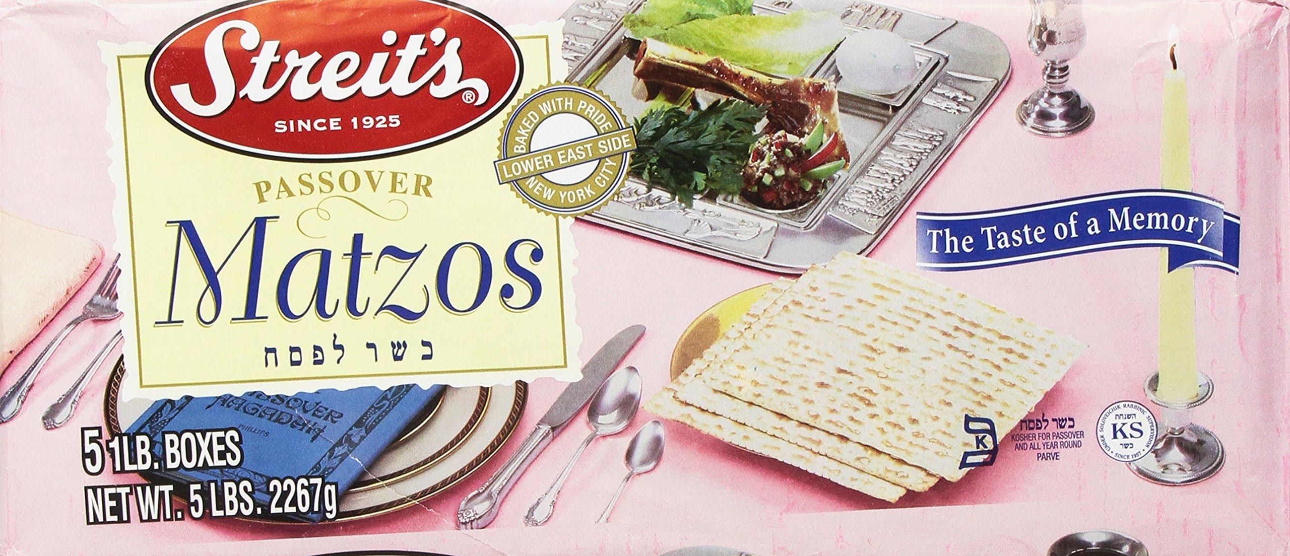 Streit's Matzo, 5lb, Passover, 5-pounds