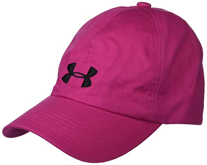 6855a5cb7e6 Under Armour Little Girl s Armour Solid Cap Hat