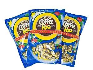 12oz Coffee Rio Original Roast Gourmet Candy, Pack of 3