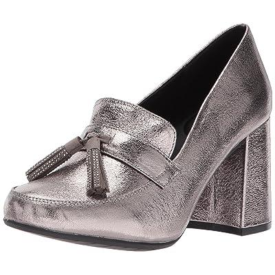 Kenneth Cole REACTION Women's Happy Change Dress Pump with Tassel Detail Metallic | Shoes