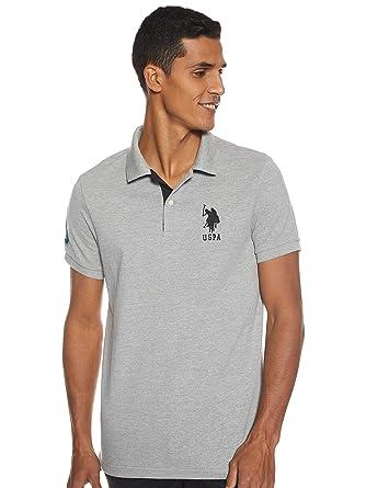 U.S. Polo Assn. Camiseta de Manga Corta Polo para Hombre con ...
