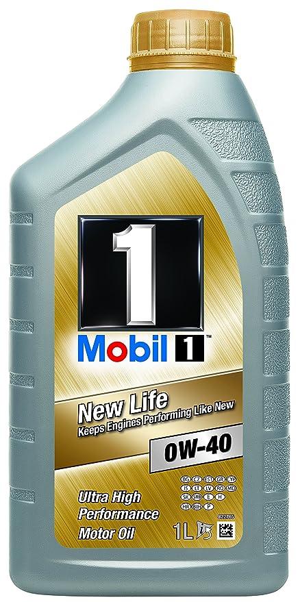 Mobil 1 151052 New Life 0W-40 Aceites de Motor para Coches 1 litro