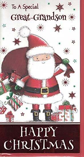 Great-Grandson ~ Great-Grandson Happy Christmas ~ Christmas Card