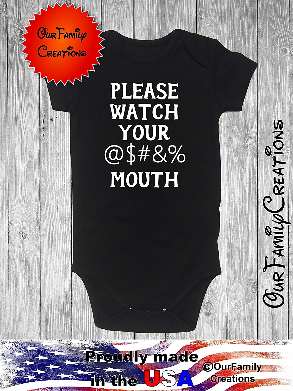 Please no kisses black Gerber onesie you pick size newborn