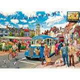 Gibsons The Country Bus Jigsaw Puzzle (4 x 500-Piece)