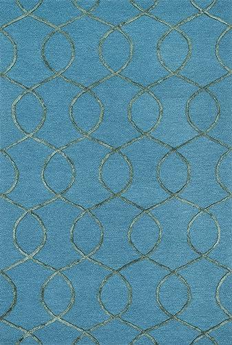 Loloi PANACHE Area Rug, 2 3 x 7 6 , Ocean Green