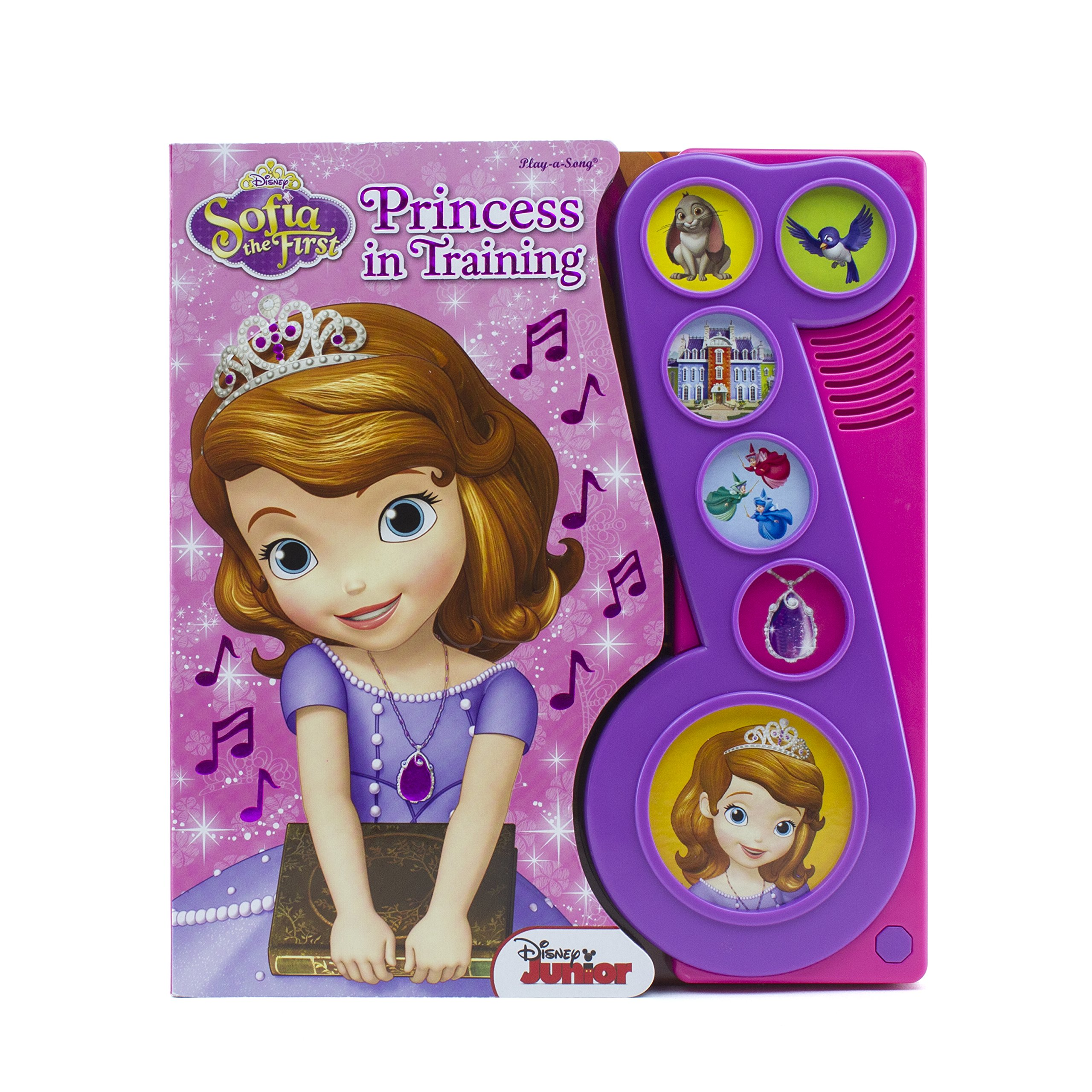 Sofia the First: Princess in Training: Play-a-Sound Book (Sofia the First: Play-a-song) pdf
