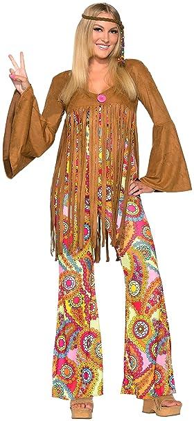 Amazon.com: Forum Novelties - Disfraz de hippie para mujer ...