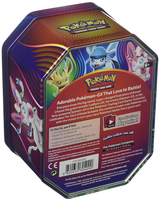Multicolored 210-80409 Evolution Celebration Tin Pokemon TCG