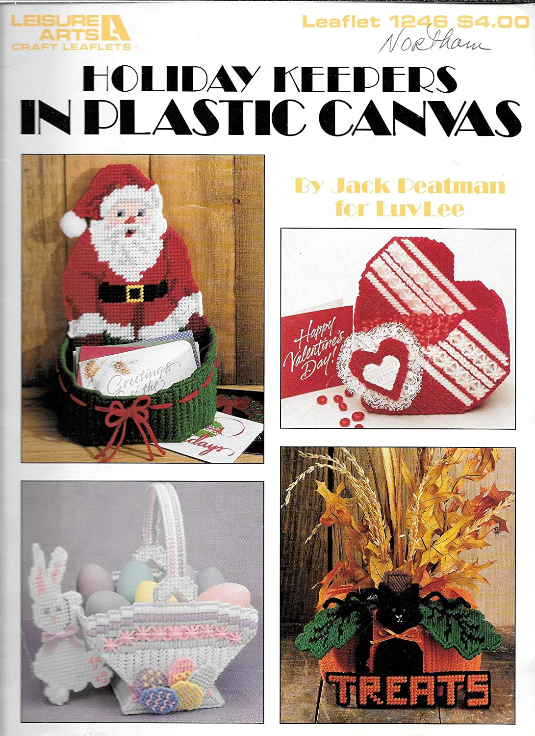 Holiday Keepers in Plastic Canvas by Jack Peatman (Leaflet 1246)