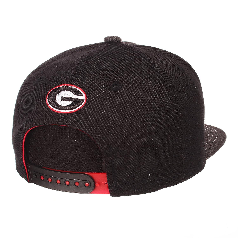 Adjustable Zephyr Adult Men Jock NCAA Snapback Hat Gray//Team Color