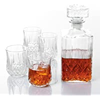 Deals on Gibson Home Jewelite 5 pc Whiskey Set