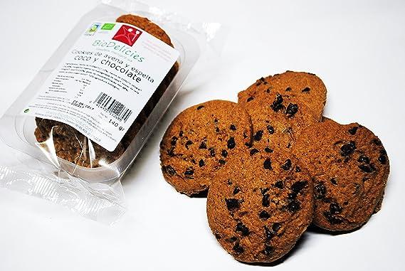Cookies ecológicos, avena y espelta integral, de COCO y chocolate (pack de 10 cajitas de 140 gr, peso total 1,400 kg): Amazon.es: Alimentación y bebidas