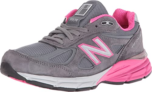 new balance grey with pink