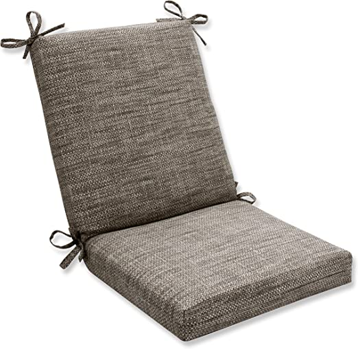 Pillow Perfect 596617 Outdoor Indoor Remi Patina Square Corner Chair Cushion 36 5 X 18 Gray Home Kitchen Amazon Com