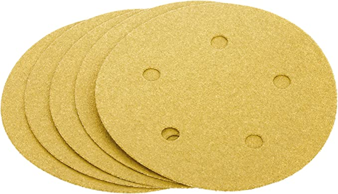 A100-C Hand Length 5 Hole Grizzly G6409 5-Inch Sanding Disc 5-Piece