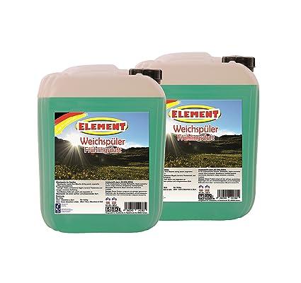 Element Suavizante concentrado 20 litros de primavera (Detergente Líquido lavandería