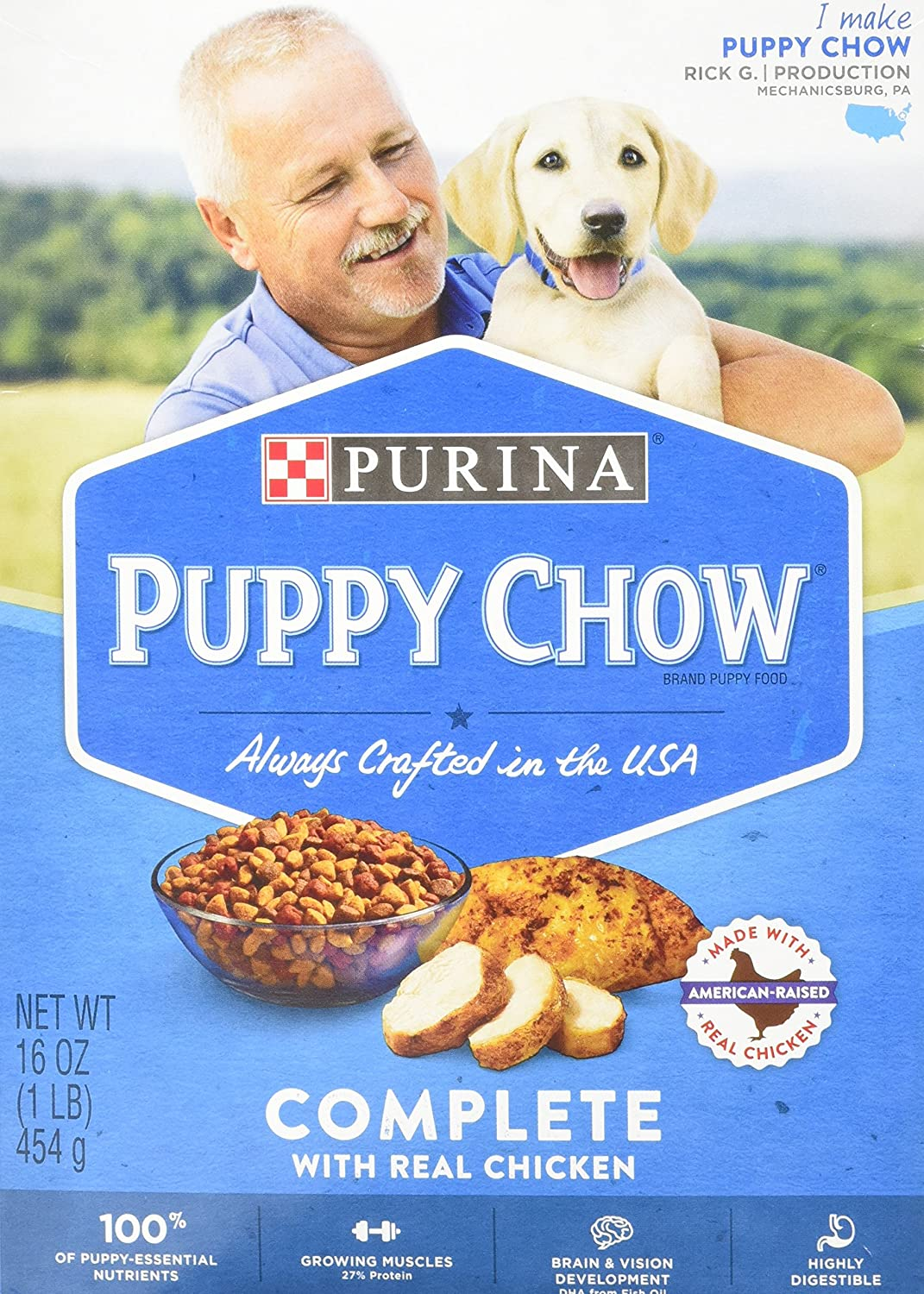 Complete Nutritious Meals For Healthy Beginners 16 oz by Puppy Chow