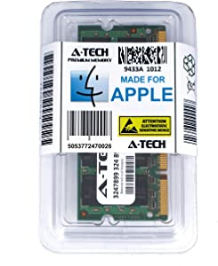 A-Tech for Apple 1GB Module PC2-5300 MacBook Pro MacBook Late 2007 Early 2009 Early 2008 MB061LL/B A1181 MB062LL/B MB063LL/B MB402LL/A MB403LL/A MB404LL/A MB881LL/A MA895LL A1226 MA896LL Memory RAM