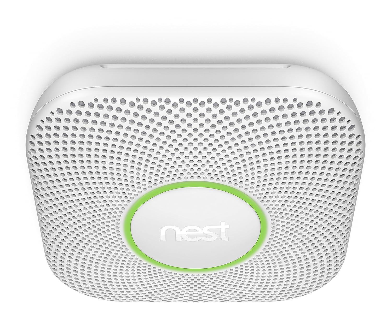 Nest S3000BWFD Detector de Humo y CO, Blanco