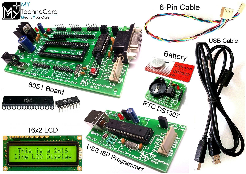 amazonin buy my technocare 8051 development board and isp