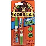 Gorilla Super Glue Gel, Two 3 Gram Tubes, Clear, (Pack of 1)