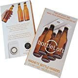 BottleLoft by Strong Like Bull Magnets, the original Magnetic Bottle Hanger, 2 Strip Pack (holds 6 bottles)