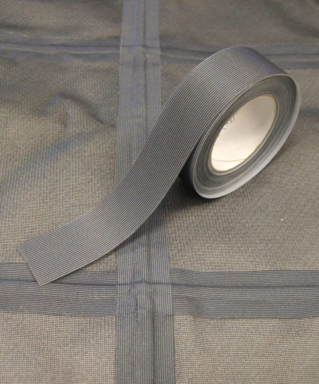 Kleiber 3 m x 2 cm Self Adhesive Waterproof Fabric Seam Repair Tape for Tents Co