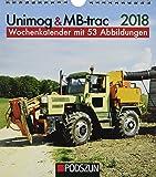 Unimog & MB-trac 2018: Wochenkalender mit 53 Fotografien