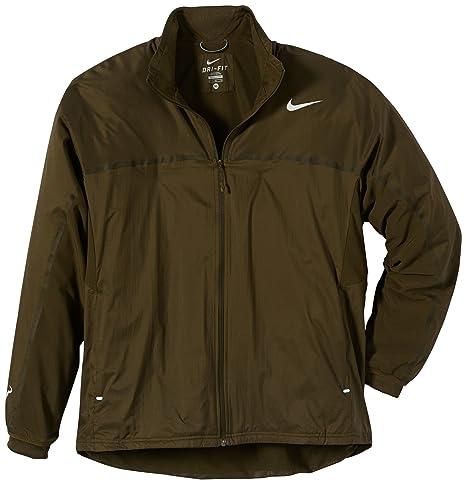 ca6218319f Nike Uomo Giacchetta tennis Premier Rafa, Marrone (Dark Loden/lt ...