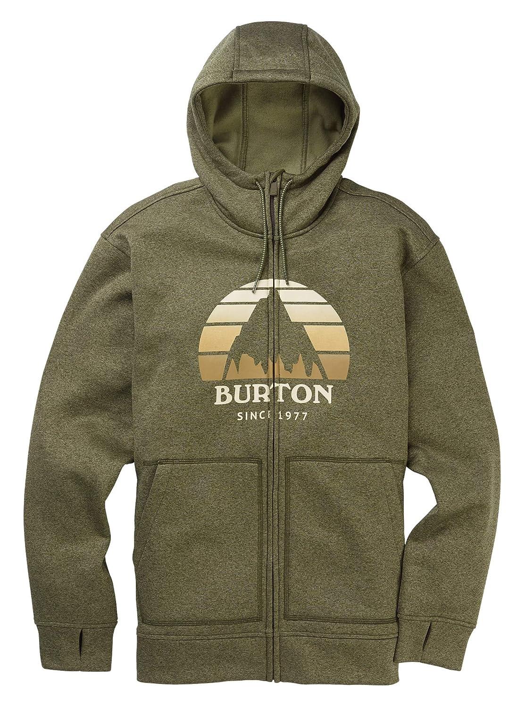 Burton Herren Oak Full-Zip athletisch, Kapuzenpulli, Keef Heather Neu, Small